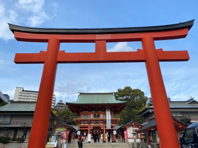 生田神社鳥居